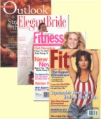 Wennik appears in Outlook, Elegant Bride, Fitness, Fit Magazine
