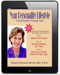 Your Personality Lifestyle by Roberta Schwartz Wennik, MS, RDN